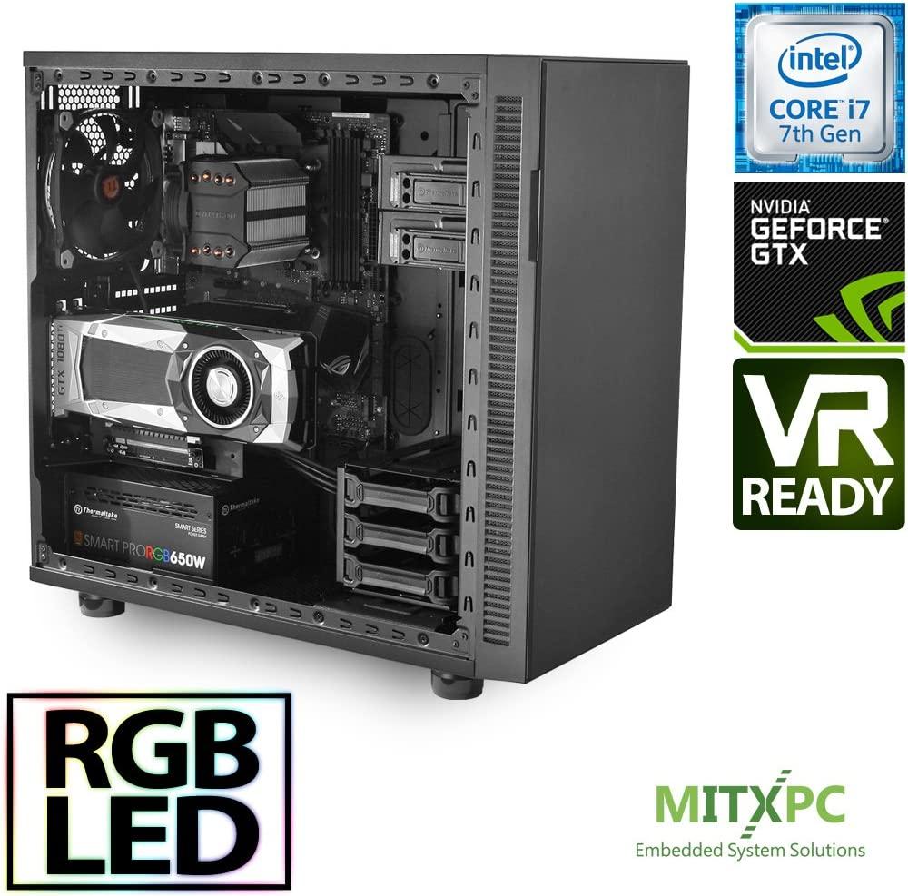 VR Ready Gaming PC/Intel i7-7700,16GB, 256GB NVMe, GTX 1080 Ti