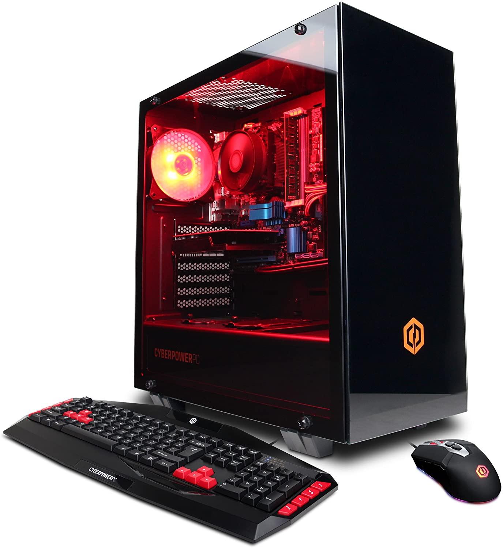 CyberpowerPC Gamer Ultra Gaming PC, AMD FX-6300 3.5GHz, Radeon R7 240 2GB, 8GB DDR3, 1TB HDD, WiFi & Win 10 Home (GUA884)