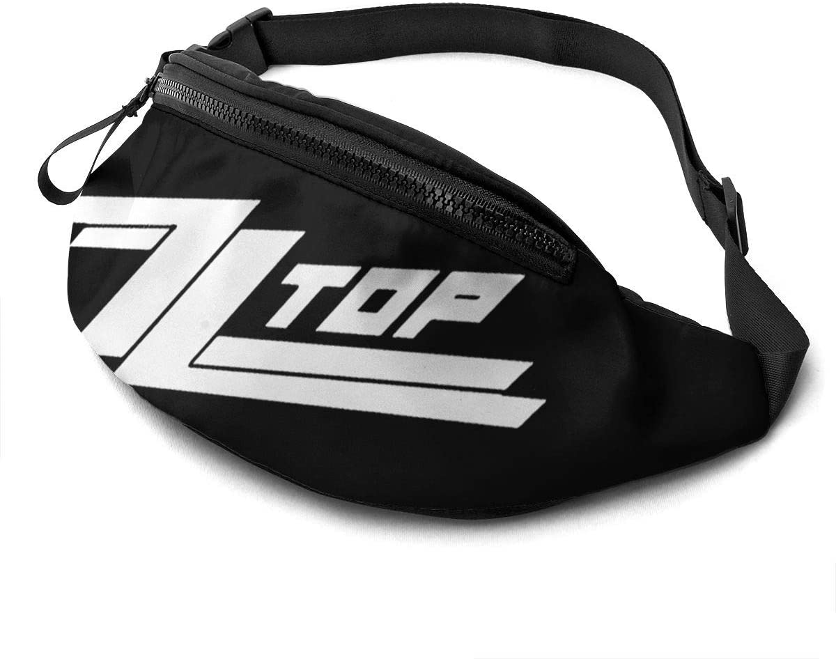 Qwtykeertyi Zz Top Unisex Fanny Packs for Outdoors Sport Workout Traveling Casual Running Hiking Cycling Gym with Adjustable Strap
