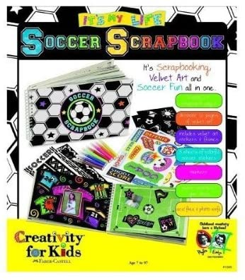 Creativity For Kids Soccer Scrapbook