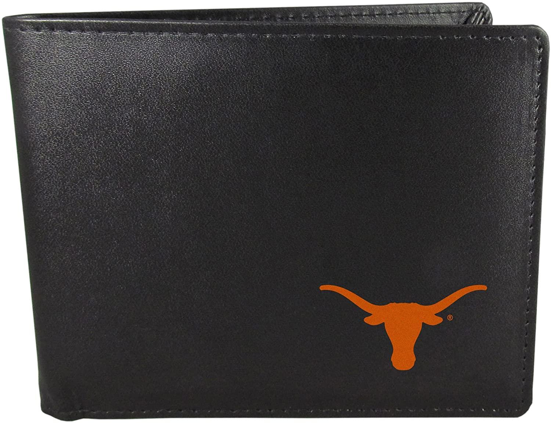 NCAA Siskiyou Sports Mens Texas Longhorns Bi-fold Wallet One Size Black
