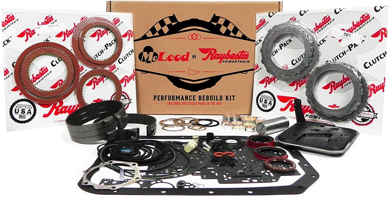 McLeod Racing 88189K Performance Transmission Rebuild Kit (with Kolene Steels 6L80E 2007 And Up - Stage 1)