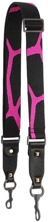 Bag Strap-Replacement Crossbody Bag Purse Strap Shoulder Adjustable Replacement-Strap For Handbag Leopard Rose