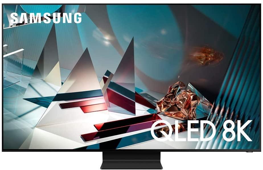 SAMSUNG 65-inch Class QLED Q800T Series - Real 8K Resolution Direct Full Array 24X Quantum HDR 16X Smart TV with Alexa Built-in (QN65Q800TAFXZA, 2020 Model)