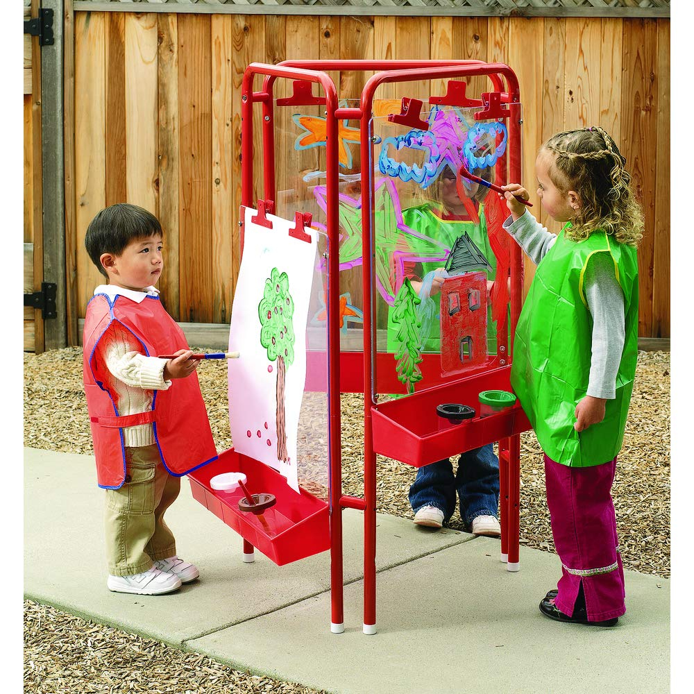 Colorations 3-Way Indoor/Outdoor Acrylic Panel Easel (Item # 3WAPE)