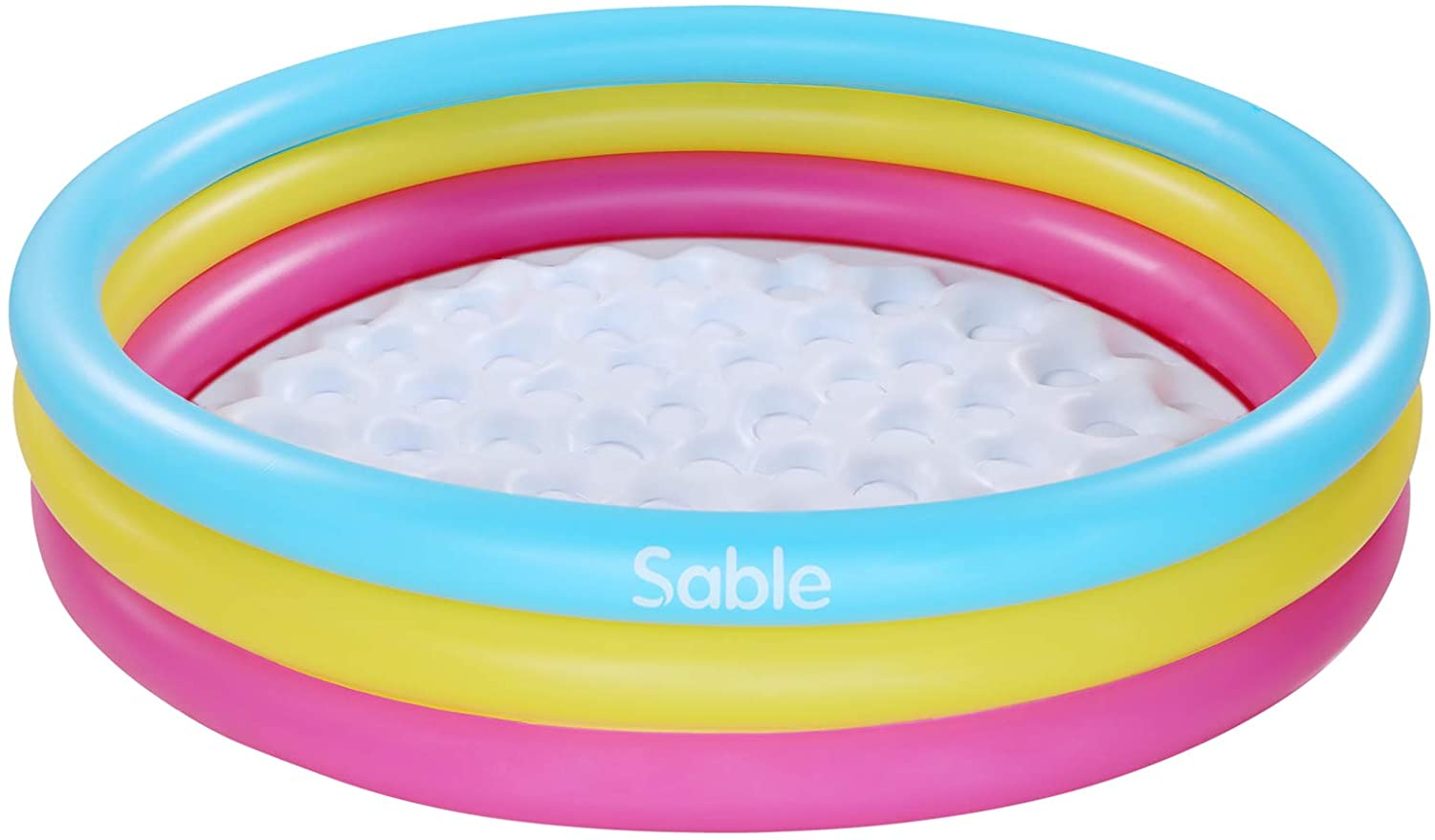 Sable Kiddie Pool, Blow Up Inflatable Baby Pool, 58