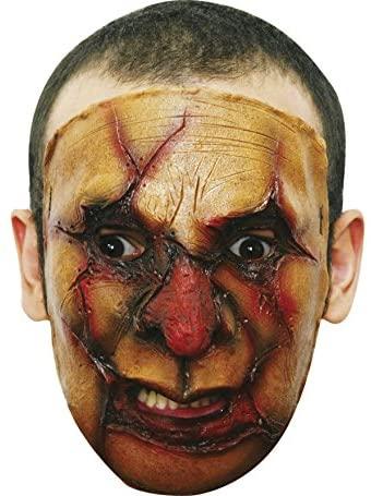 Caretas Rev S.A.De C.V. Men's New Face Latex Mask Multicoloured One Size