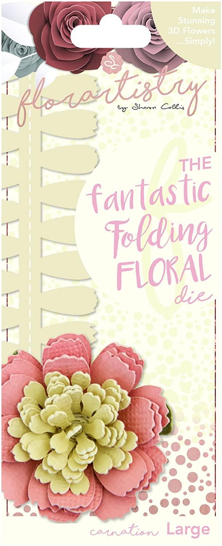 Florartistry Folding Die-Carnation (Large), Metal, Brown