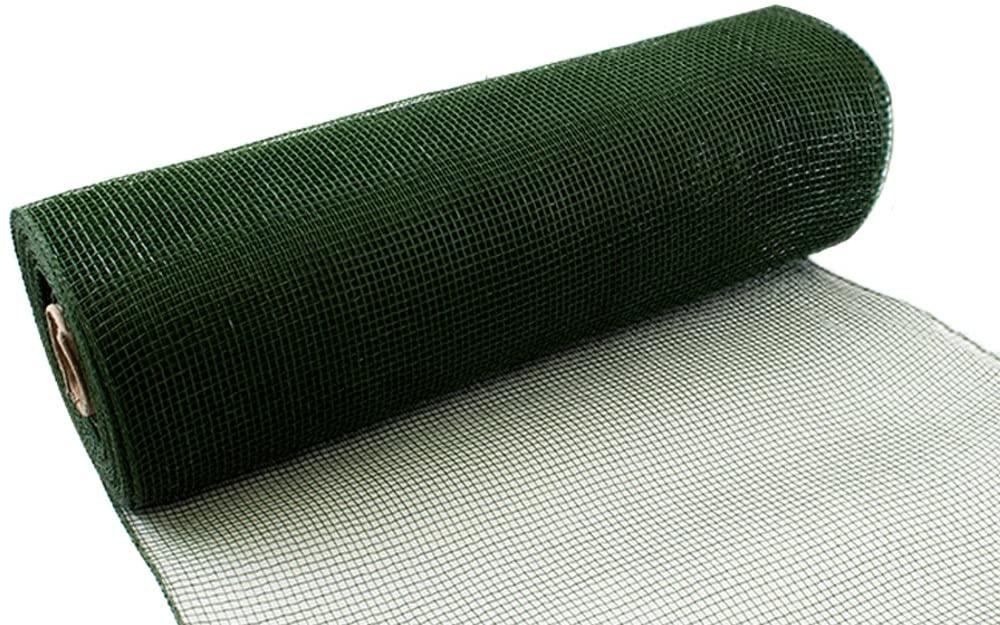 Eleganza Deco Mesh 25cm x 9.1m Sage Green No.51, 25 cm x 9.1 m