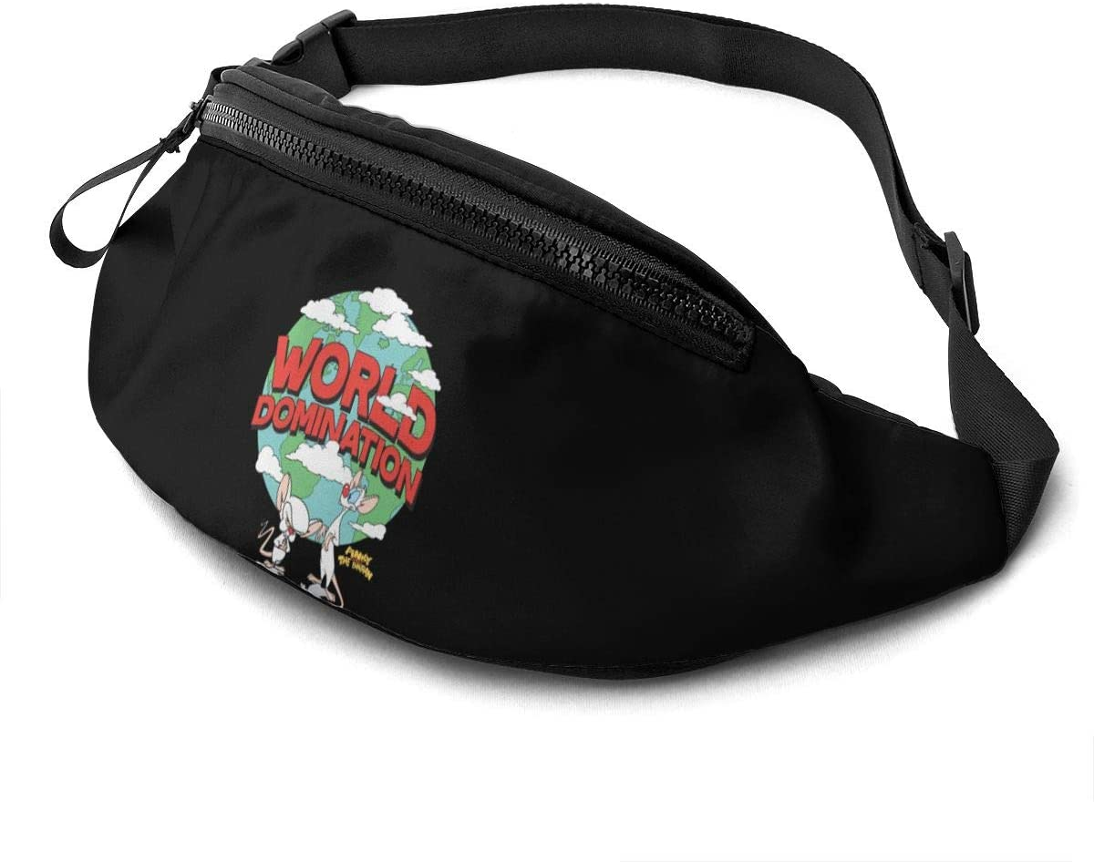 Qwertyi Animaniacs Unisex Running Waist Packs Casual Waist Bag, Can Hold Small Objects Such As Mobile Phones