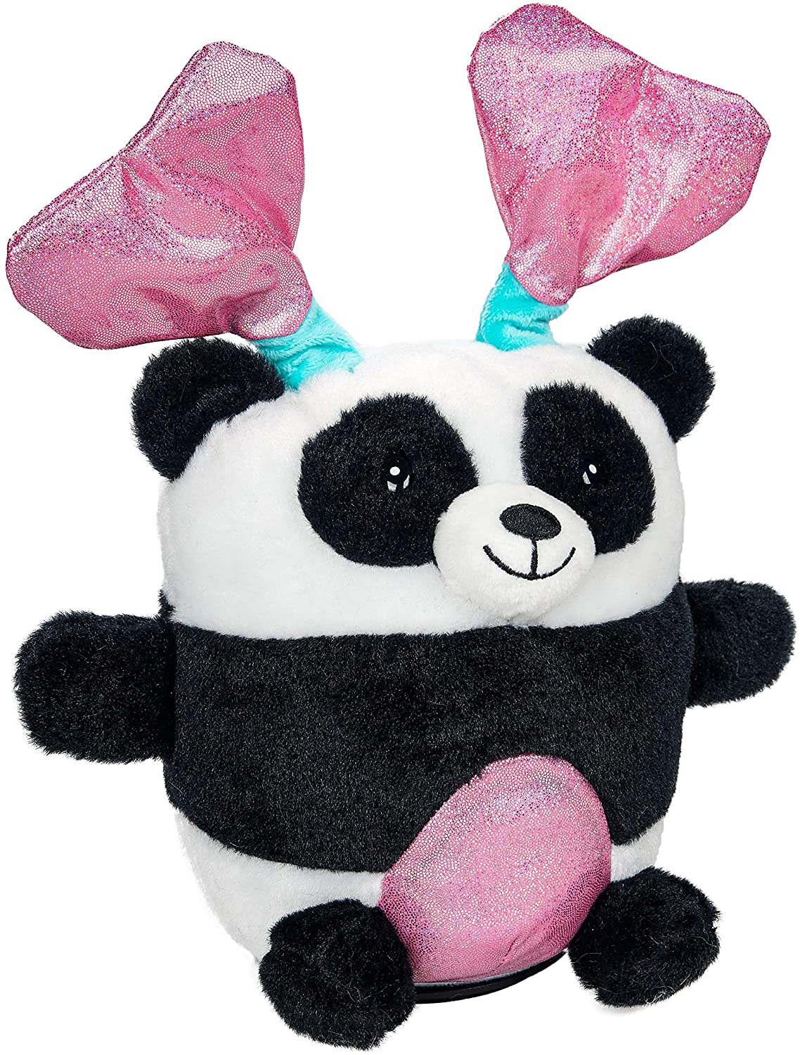 Valentines Panda Bear Animated Plush - Sings and Spins to Baby - Musical Spinning