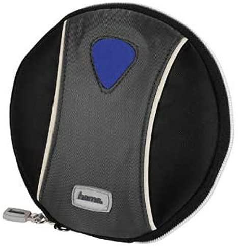 Hama CD case Corvette 20, Black/Grey