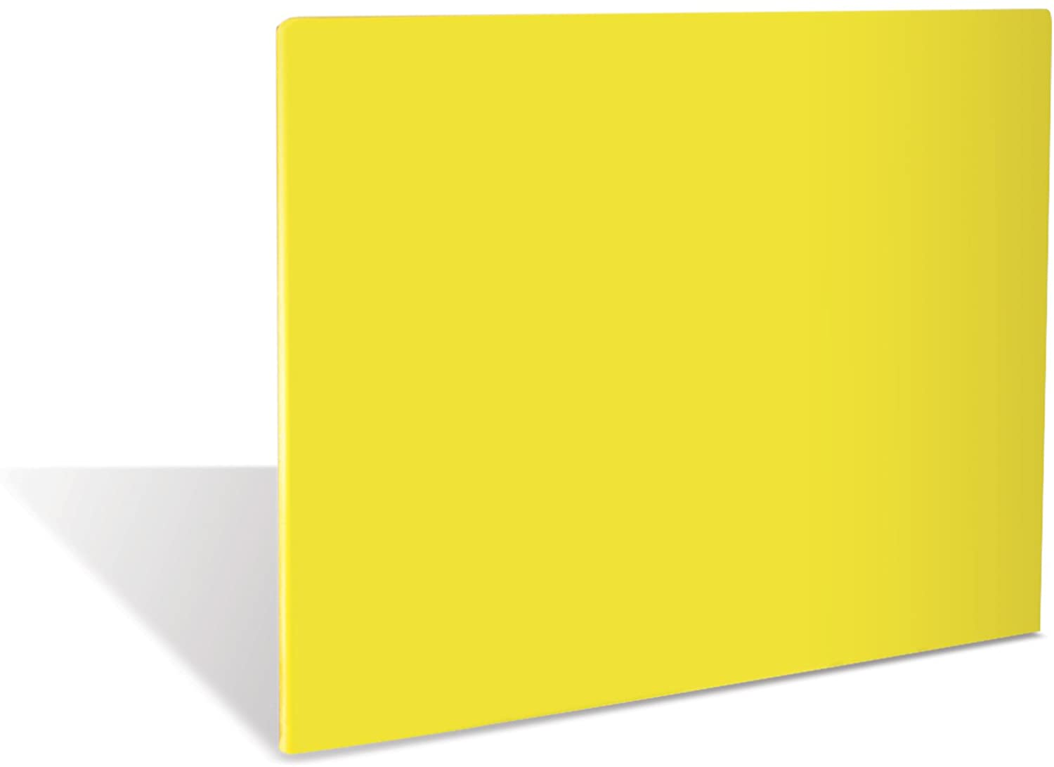 Crestware 15 by 20-Inch Polyethylene Cutting Board in Yellow
