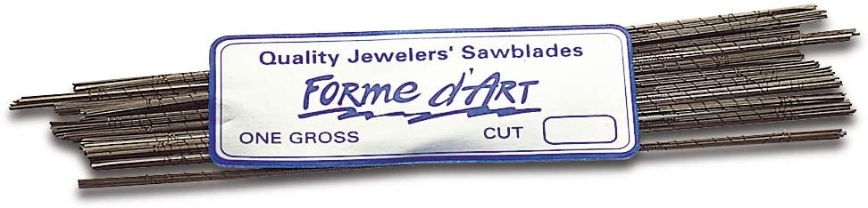 Forme dArt Sawblades 6/0 Jewelry Making Wax Carving Cutter Jewelers Saw Blades