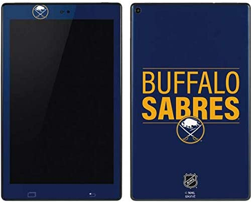 Skinit Decal Tablet Skin for Kindle Fire HD 10 (2018) - Officially Licensed NHL Buffalo Sabres Lineup Design