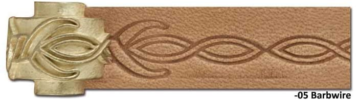 Tandy Leather Craftool� Pro Embossing Wheel Barbwire 8092-05