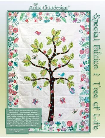 Anita Goodesign Embroidery Machine Designs CD SPECIAL EDITION TREE OF LIFE