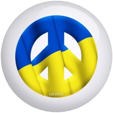 Ukraine Meyoto Flag Bowling Ball
