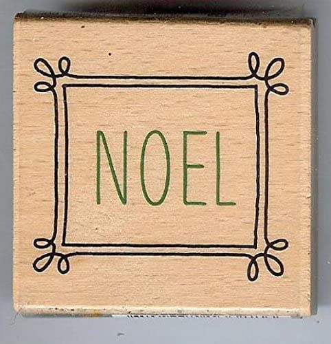 Janet Dunn Studio g NOEL Wood Mounted Stamp 1084380 .supply.from:treasuresandmemories7