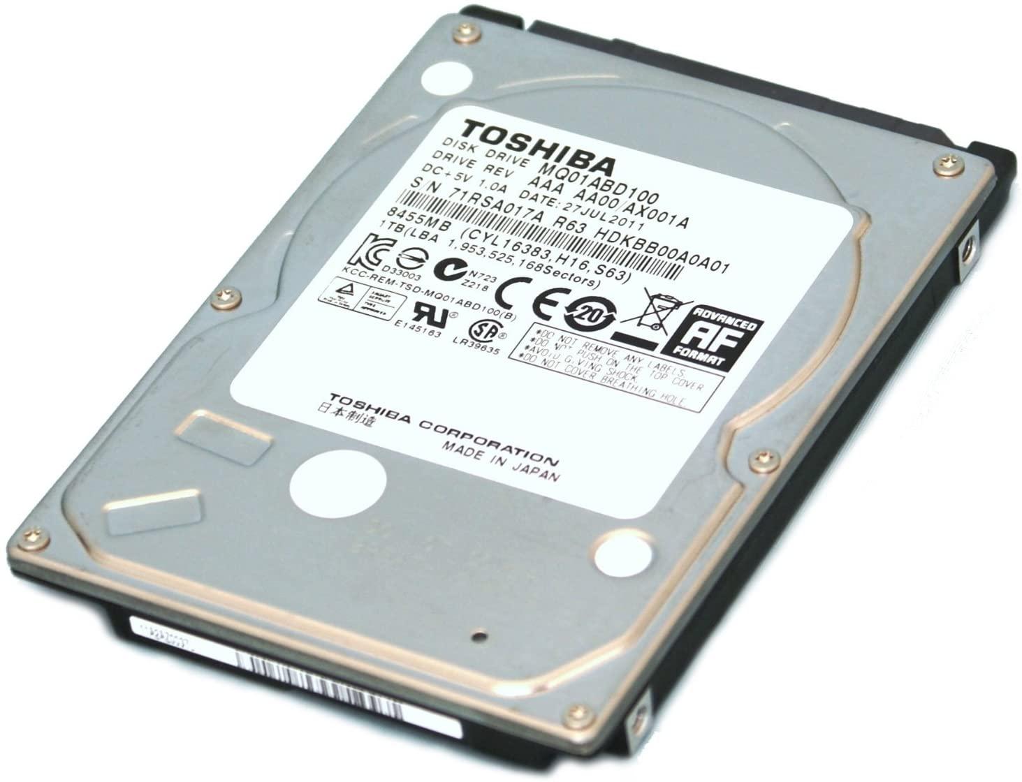 Toshiba Hard Drive - 640 GB - Internal - 2.5