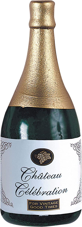 Amscan Novelty Balloon Weight - Champagne Foil Bottle