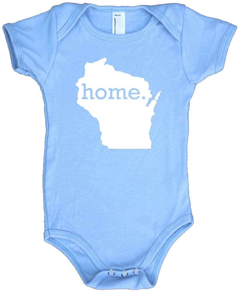 Homeland Tees Wisconsin Home Baby Bodysuit