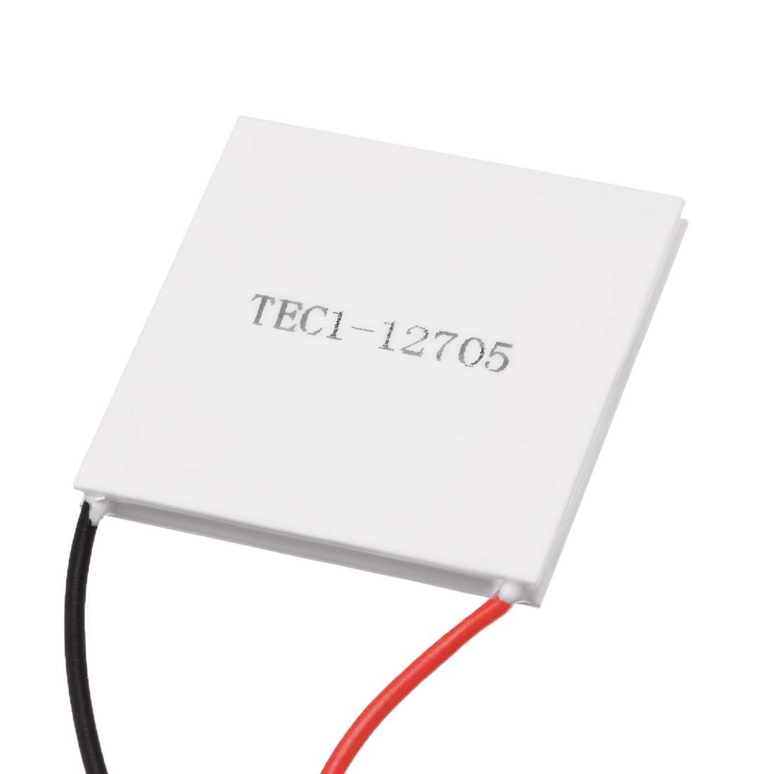 uxcell TEC1-12705 Thermoelectric Cooler Heat Sink Cooling Peltier 12 Volt 30 Watt