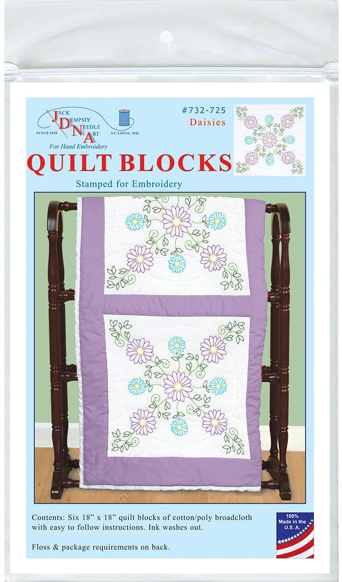 Jack Dempsey JDN732.725 Quilt Blocks 18