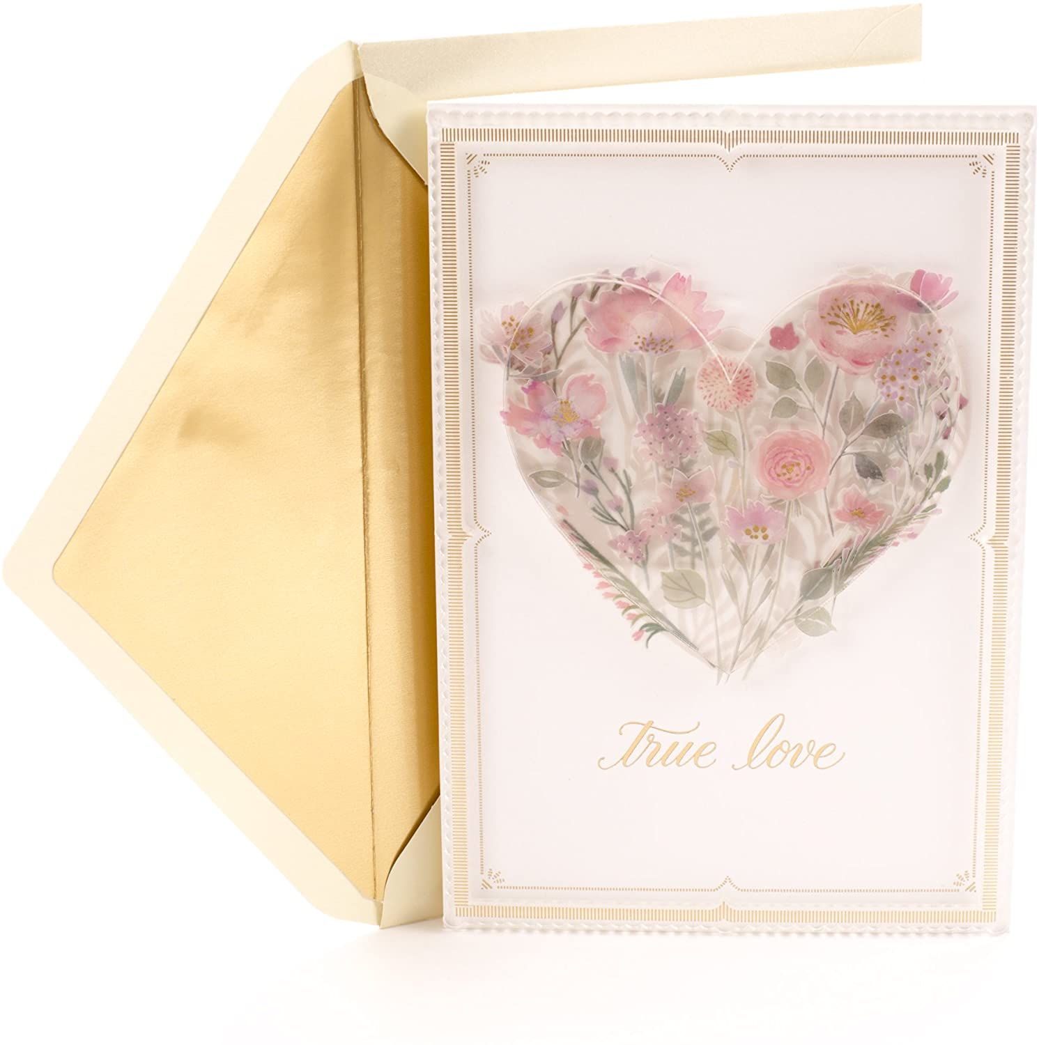 Hallmark Signature Love Card, Romantic Anniversary Card or Birthday Card (Today, Tomorrow, Always)