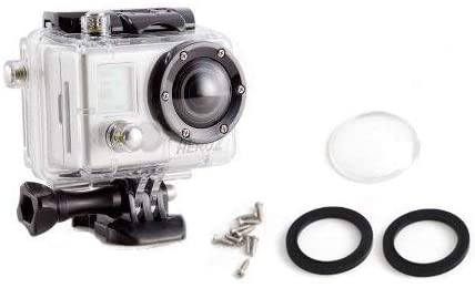 Dare Devil Cameras Replacement Housing Lens Kit (Fits GoPro HeroHD & Hero 2 Housings)