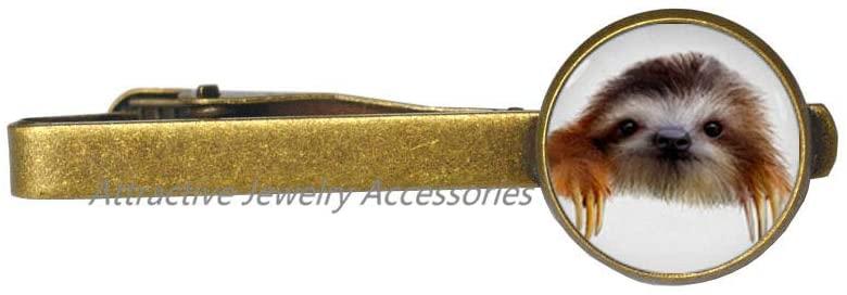 Wklo0avmg Sloth Tie Pin Sloth Tie Clip Sloth Jewelry, Bridesmaid Jewelry,Handmade Jewelry Fashion Tie Clip,QK0O343
