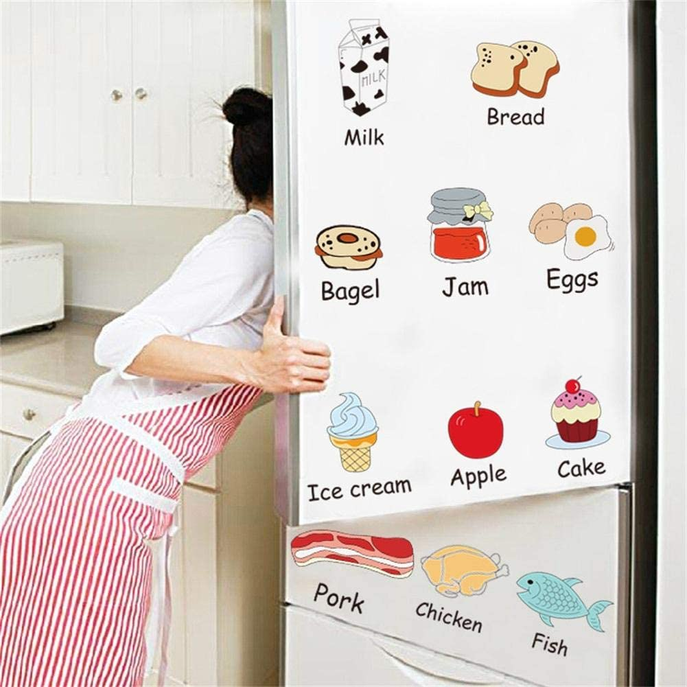 Woolves Wall Stickers Imposition English Physical Stickers, Wall Stickers Refrigerator Stickers PVC Stickers Electrostatic Stickers Boutique Stickers 5070cm Amiable Brilliant Professional