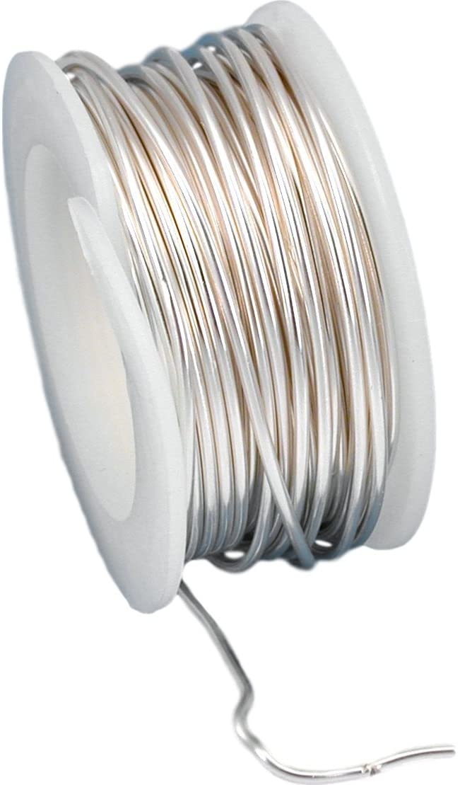 Artistic Wire Beading 18 Gauge Non-Tarnish Silver 4 Yards 12ft 42714