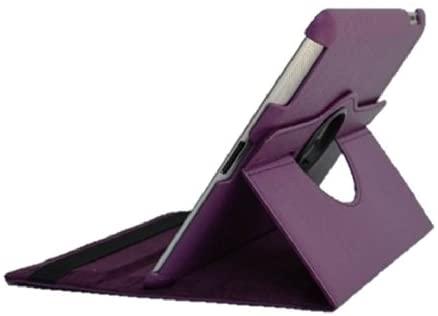 PU Leather 360 degree rotation stand iPad case for Apple ipad 2,3,4 Retina display, Free Screen Protector & Stylus - Purple