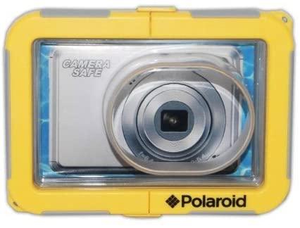Polaroid Dive-Rated Waterproof Camera Housing - Protects Virtually Any Ultra Compact Lens Camera