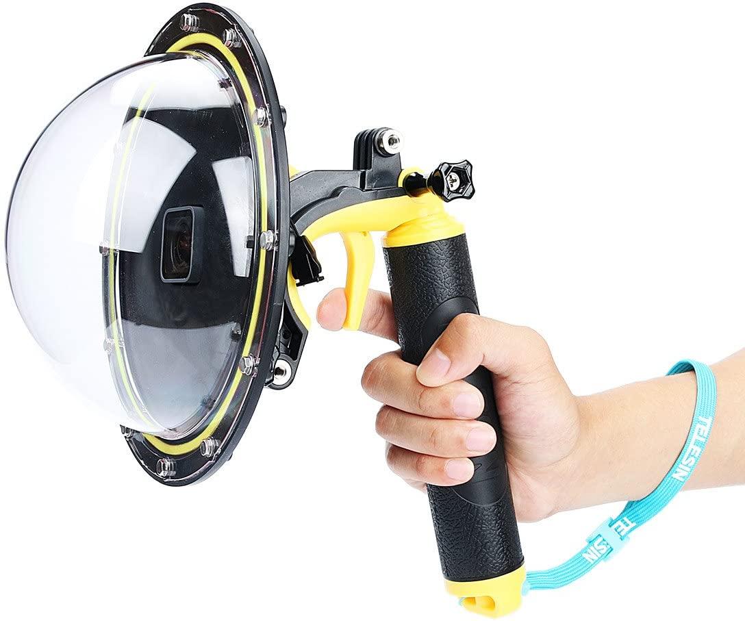 TELESIN T05 GoPro Hero 5&Hero 6 Accessories Gopro Dome Port, Underwater 6