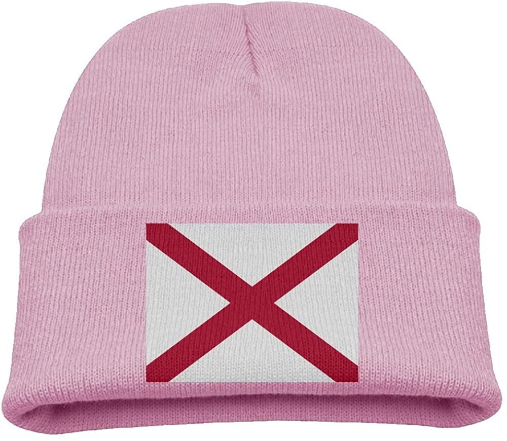 ZWZ American State Flag Kid's Hats Winter Funny Soft Knit Beanie Cap Children Unisex