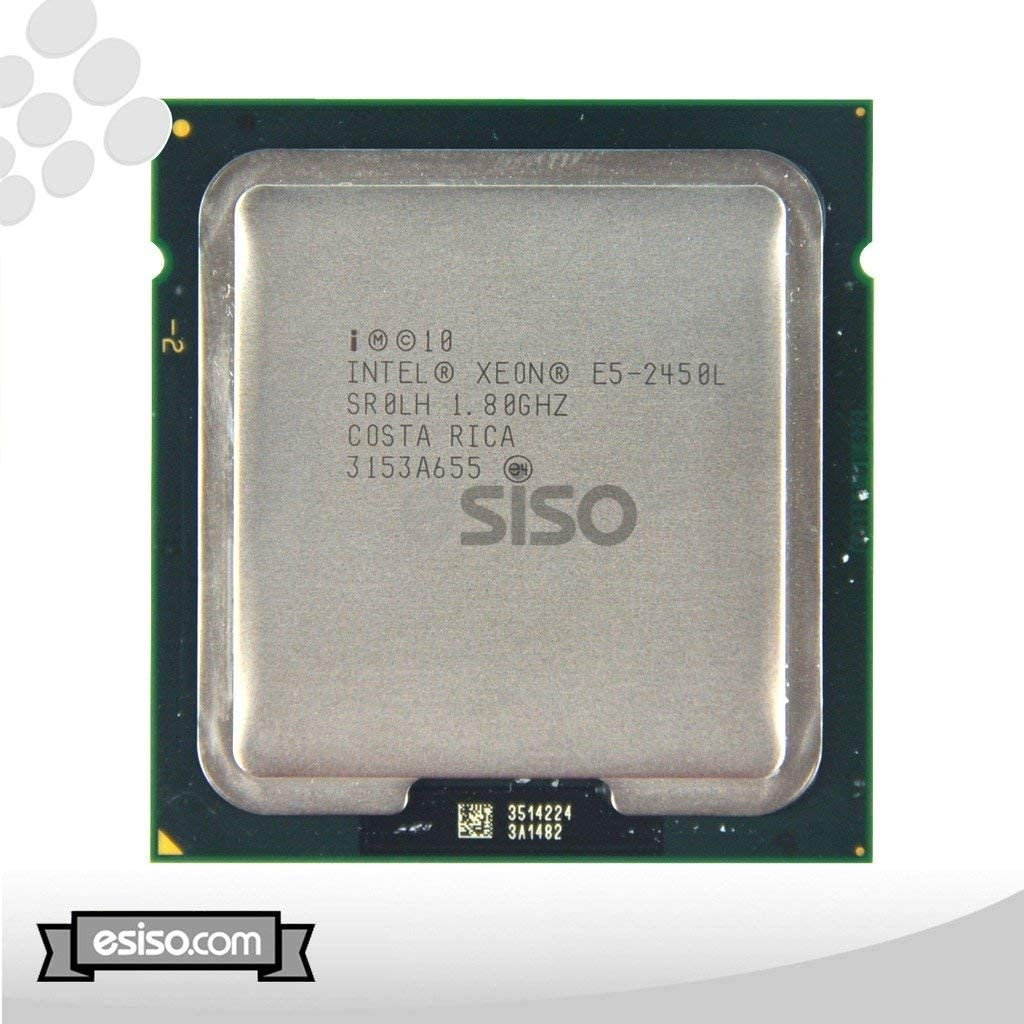 Intel Xeon E5-2450L 8-Core Processor 1.8GHz 8 GT/s 20MB Smart Cache FCLGA1356 70W SR0LH CM8062007283711 (Renewed)