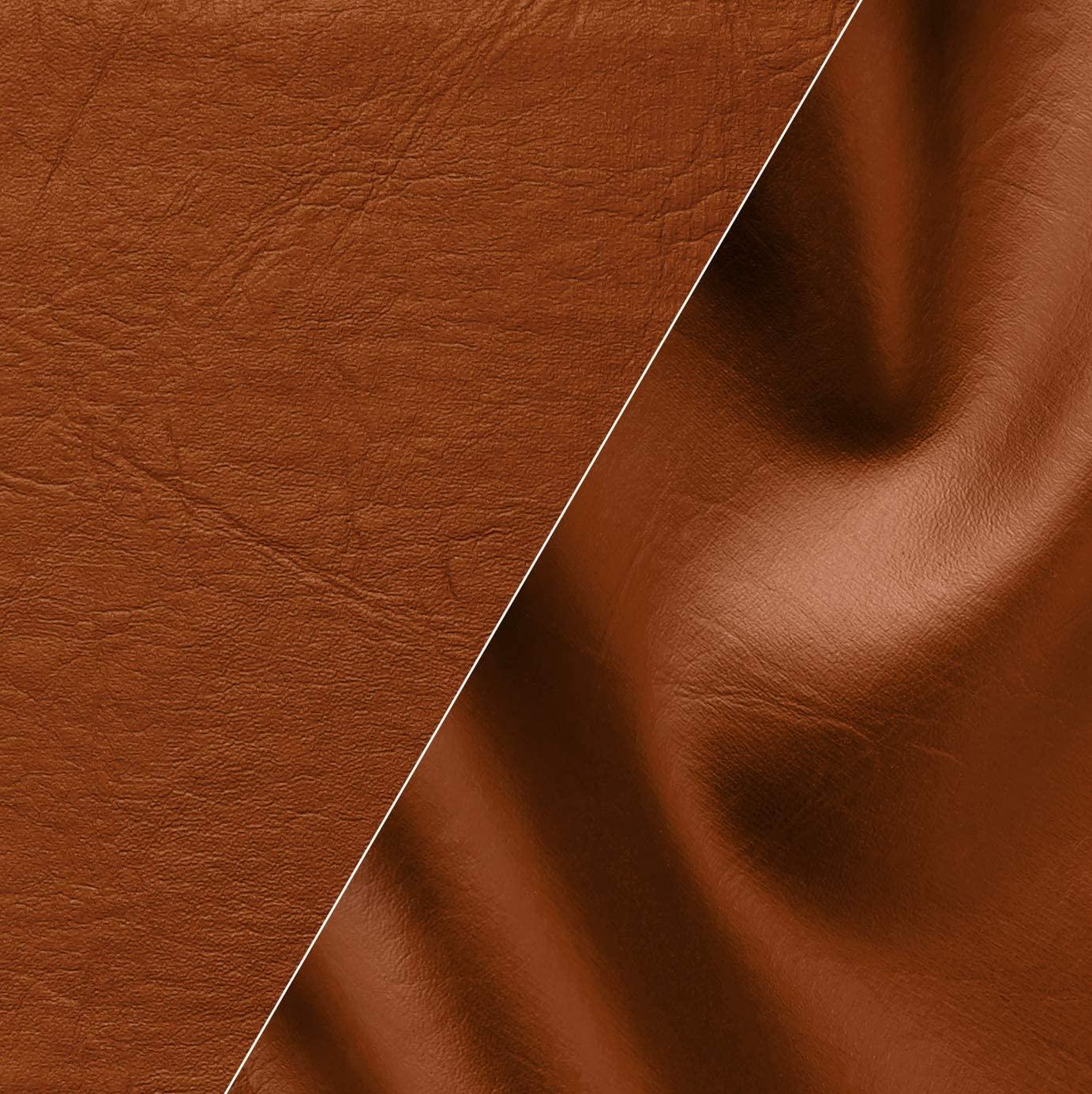 VViViD Light Brown Weatherproof Faux Leather Finish Marine Vinyl Fabric (1.5ft x 54