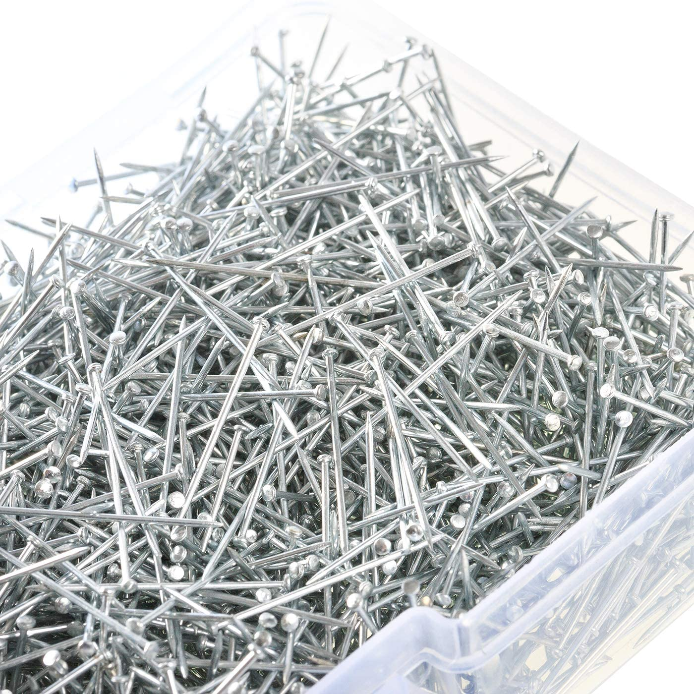 U_star 3000 Pieces Stainless Steel Pin Dressmaker Pins Fine Satin Pin for Sewing and Craft, Jewelry Making 1 1/16 Inch
