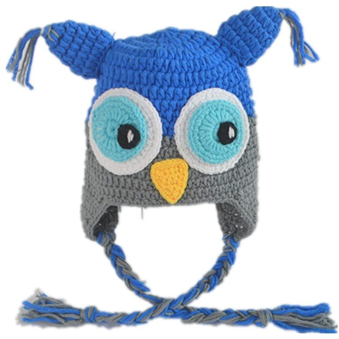 Generic Animal Crochet Beanie Hat for Infant Boys