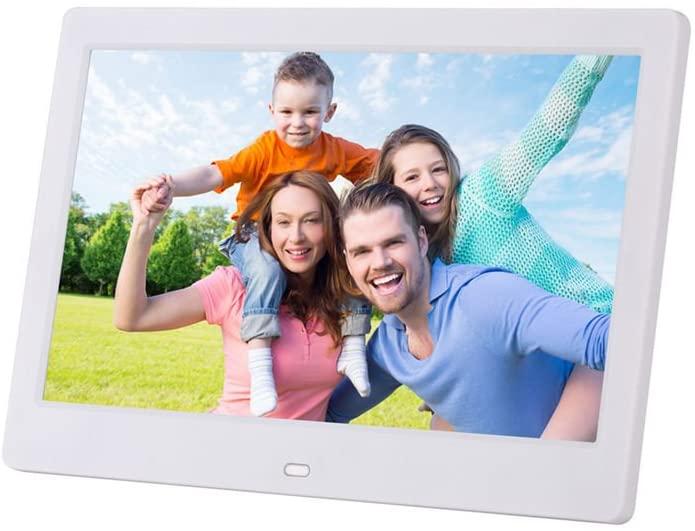 Digital Photo Frame 7 inch LED Display Hi-Res Digital Photo & HD Video Frame Remote Control