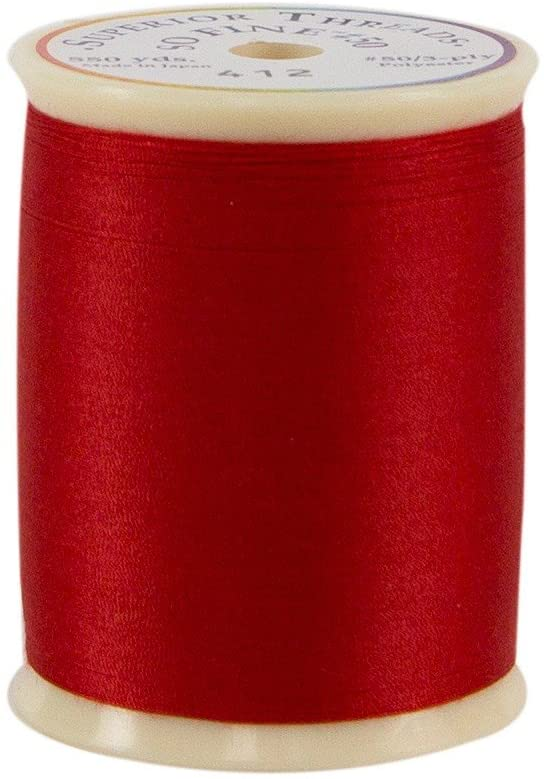 Superior Threads 11601A-412 So Fine Hot Chilies 3-Ply 50W Polyester Thread, 550 yd