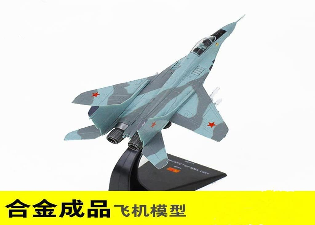 Fighter aircraft model metal finished military gift ornaments static simulation