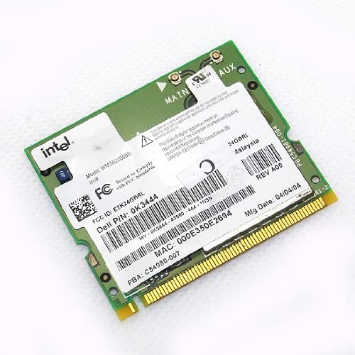 Intel PRO/Wireless 2200BG Mini PCI WiFi LAN Card WM3A2200BGMWDEL K3444 for DELL Inter