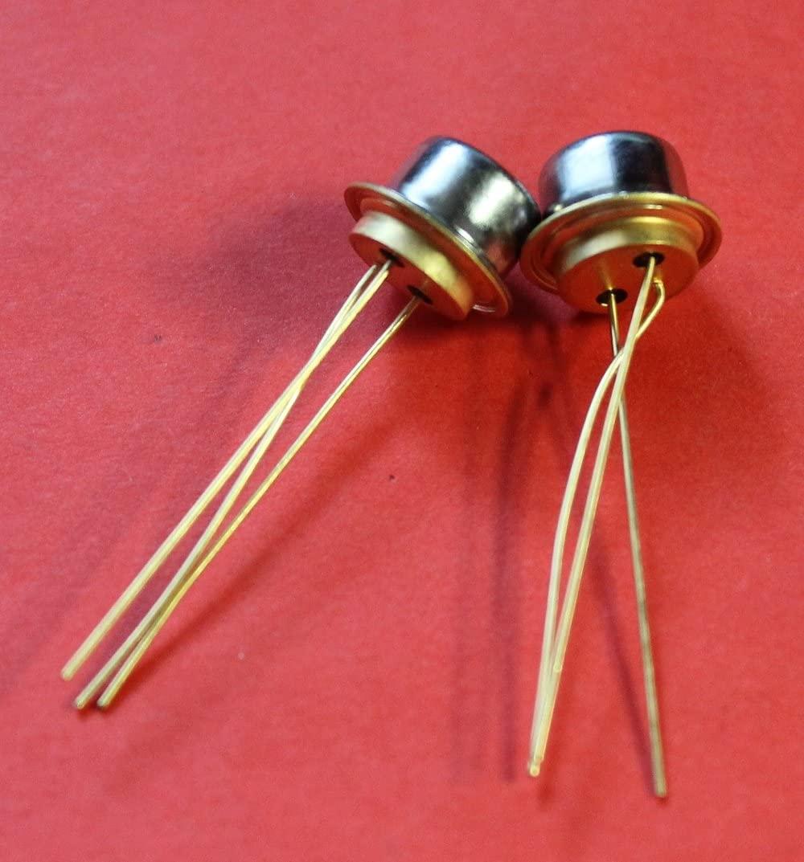S.U.R. & R Tools Transistors Silicon P307 analoge 2N734 USSR 2 pcs
