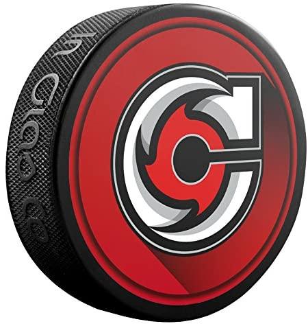 Inglasco Premiere Aa Hockey League (ECHL) Cincinnati Cyclones Souvenir Puck Skcincinnati Cyclones Souvenir Puck, Black, One Size