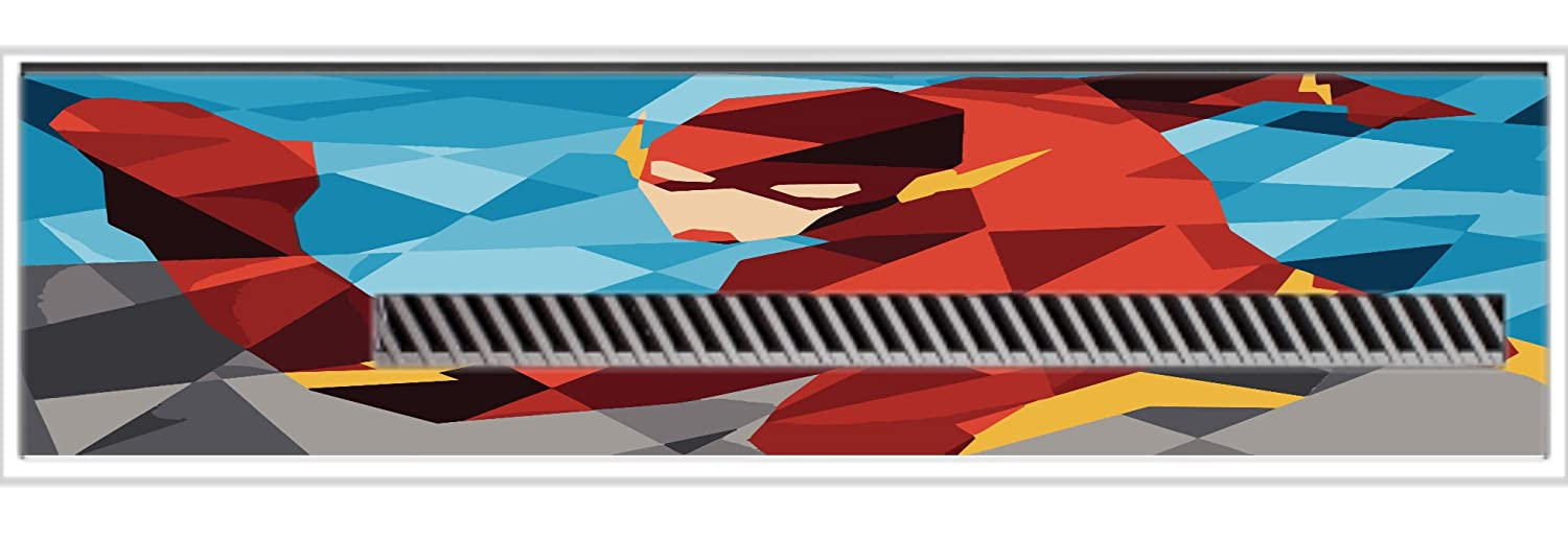 Comic Book Hero Polygon Design Vinyl Decal Sticker Skin by egeek amz for Xbox One Kinect
