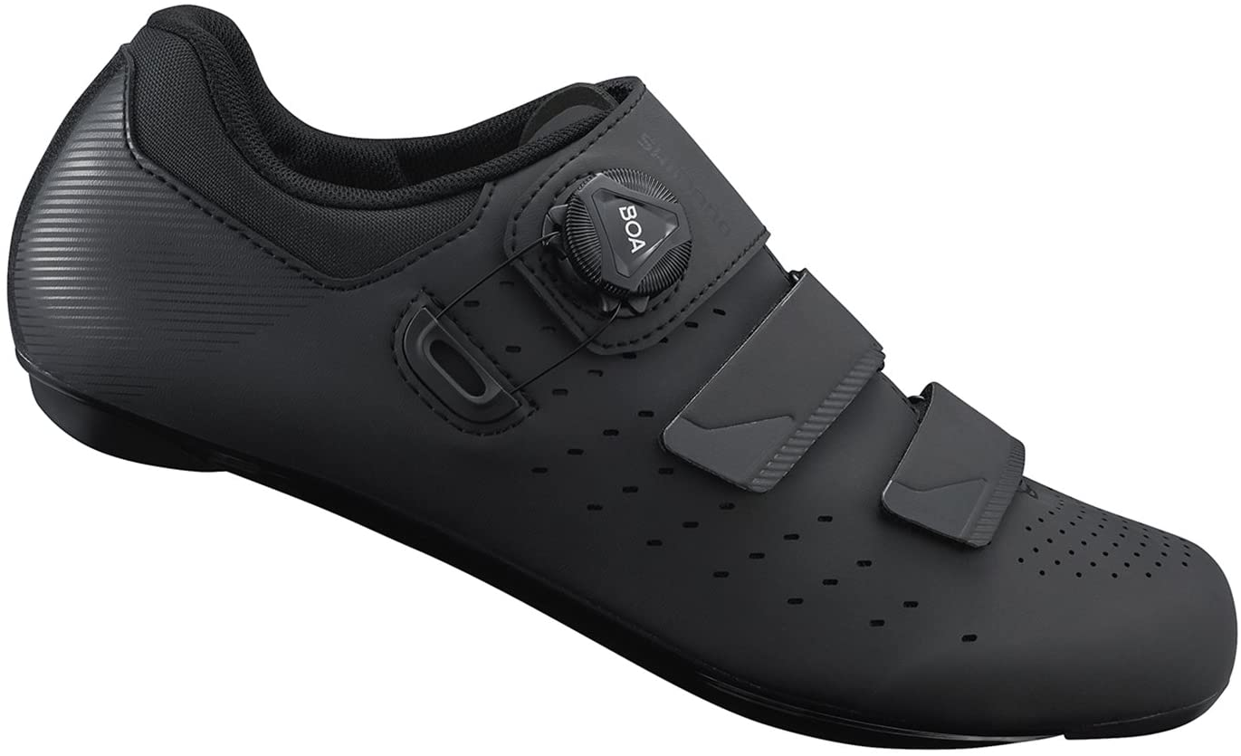 Shimano RP4 SPD-SL Shoes, Black, Size 42