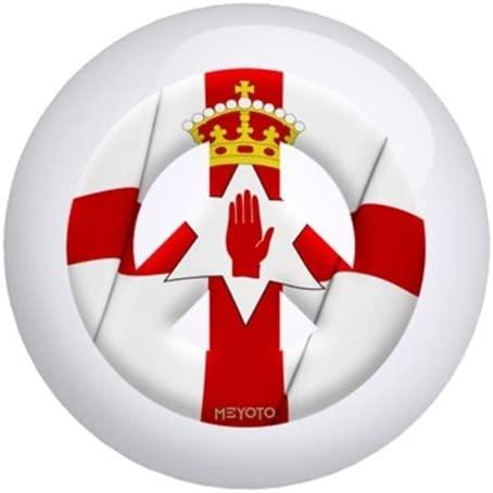 Northern Ireland Meyoto Flag Bowling Ball
